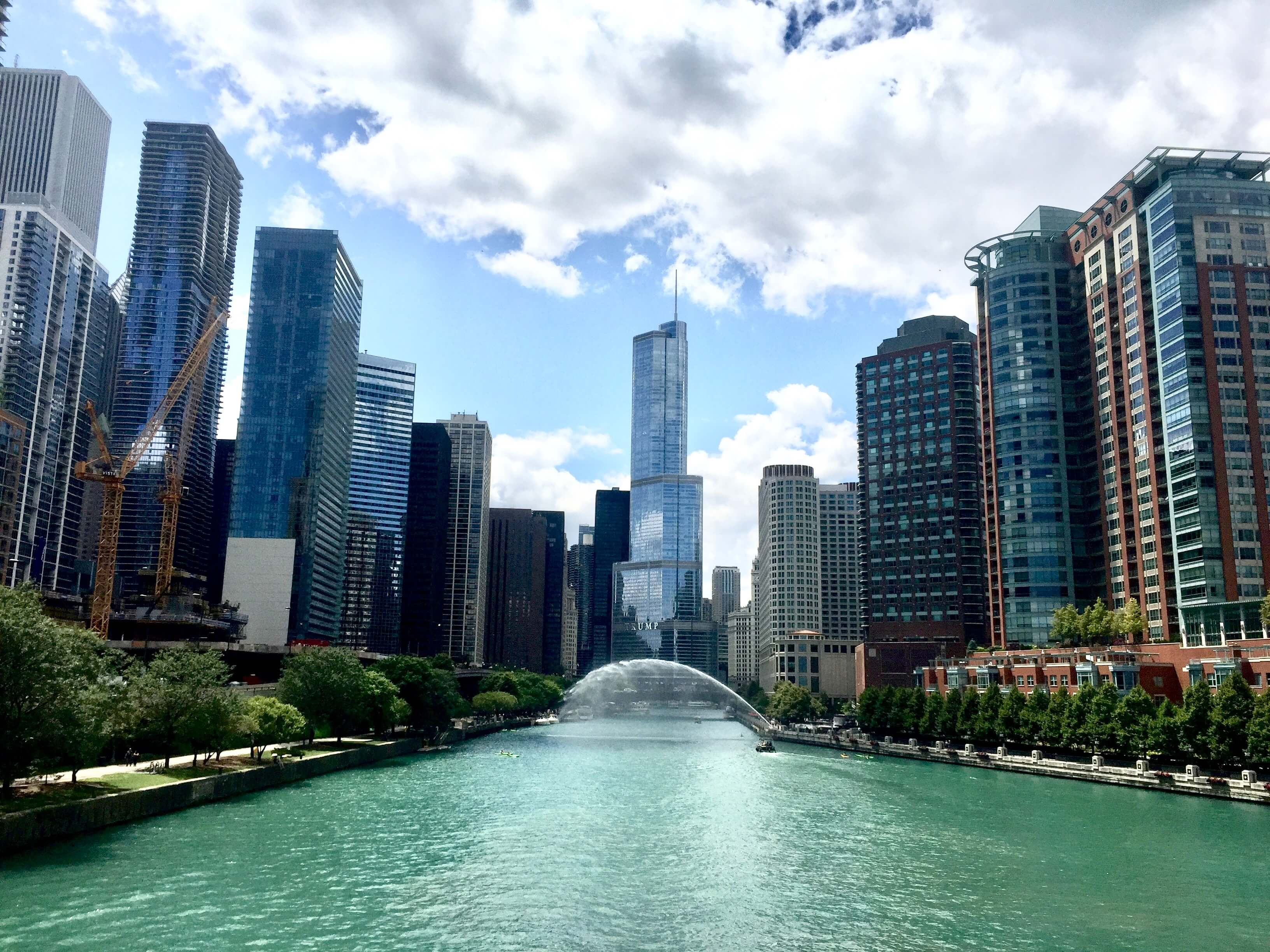 Chicago River Summer